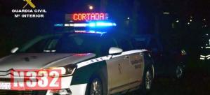 Drunk and Drugged Driver Crashes into Guardia Civil Patrol