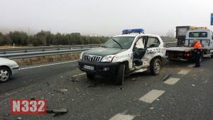 Fleeing Kamikaze Driver Rams Patrol Car