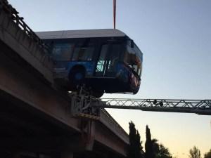 Bus Driver in Dramatic Bridge Crash Rescue