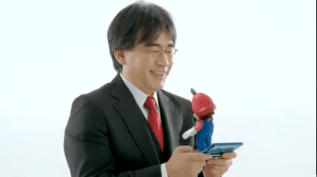 Mario e Iwata