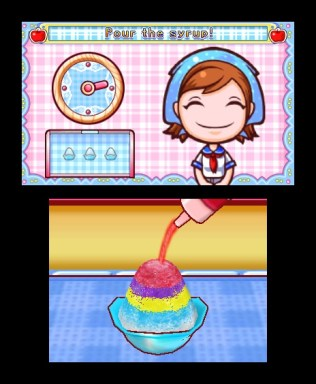 Cooking Mama 4 Sno-Cone