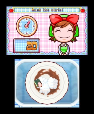 Cooking Mama 4 Wash the plate