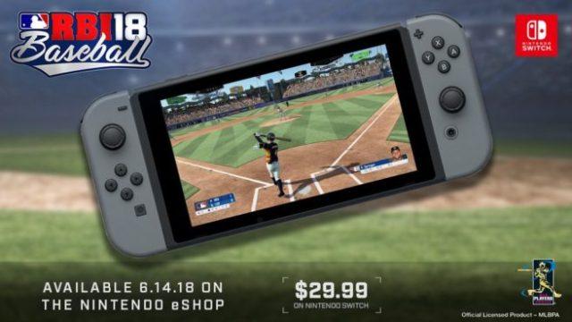 R.B.I. Baseball llegará a Switch