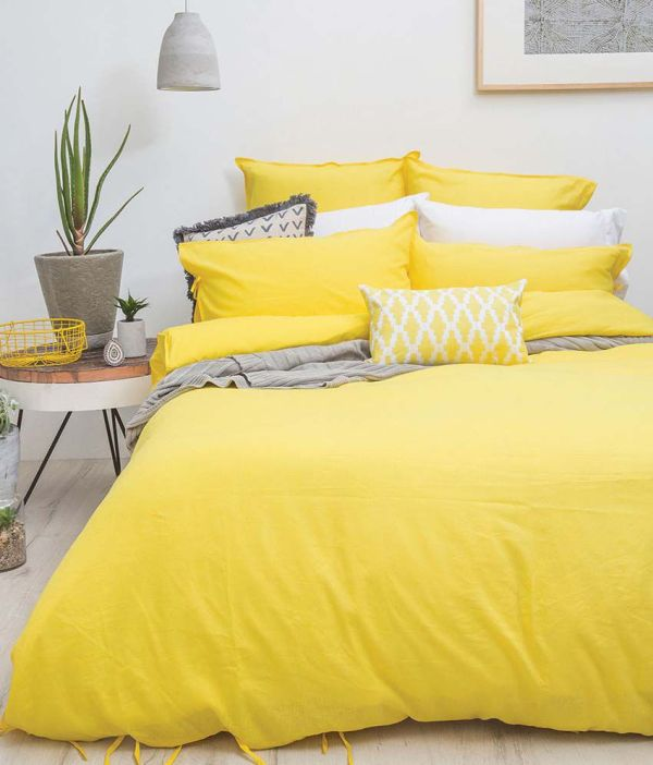 Skin2care Yellow Single Bed Sheet - Online In