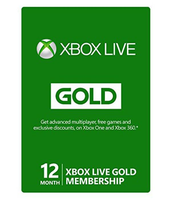 Xbox Live 12 Month Gold Membership