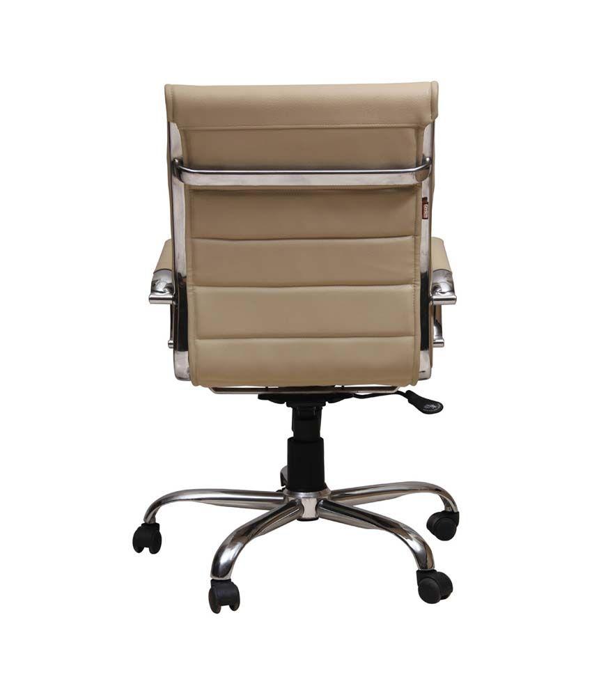 Sleek Office Chair in Beige  Buy Sleek Office Chair in