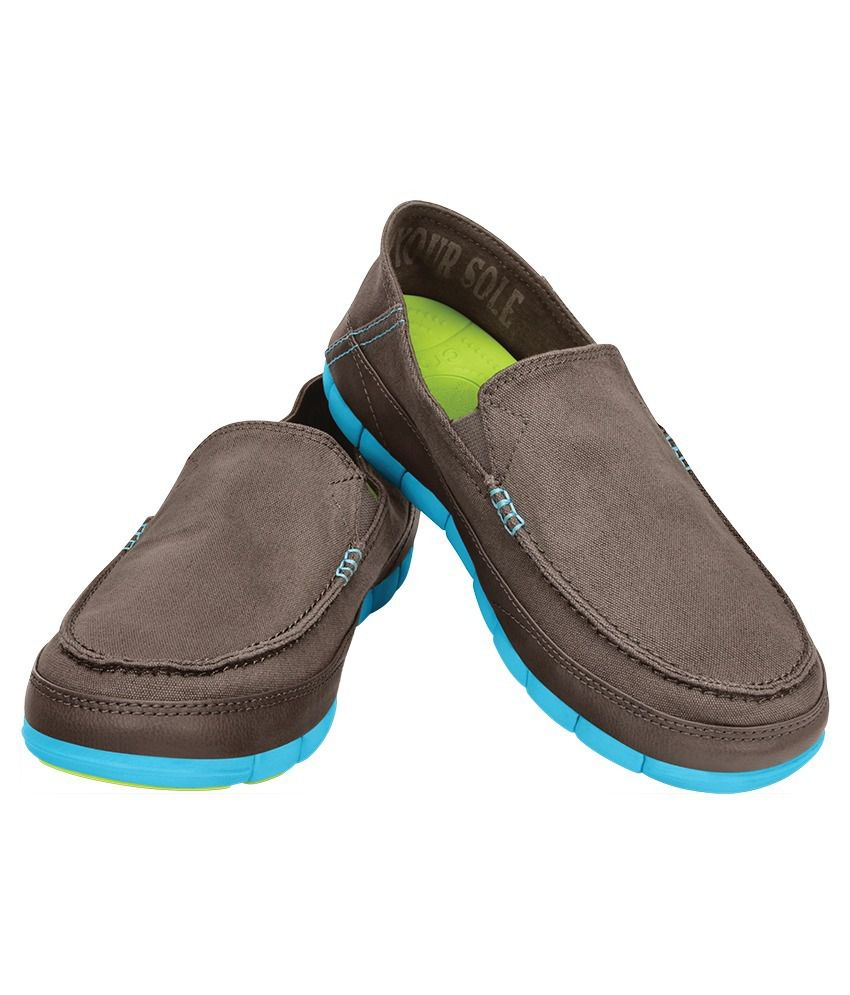Crocs Lifestyle Gray Casual Shoes - Buy Crocs Lifestyle Gray Casual Shoes Online at Best Prices in India on Snapdeal