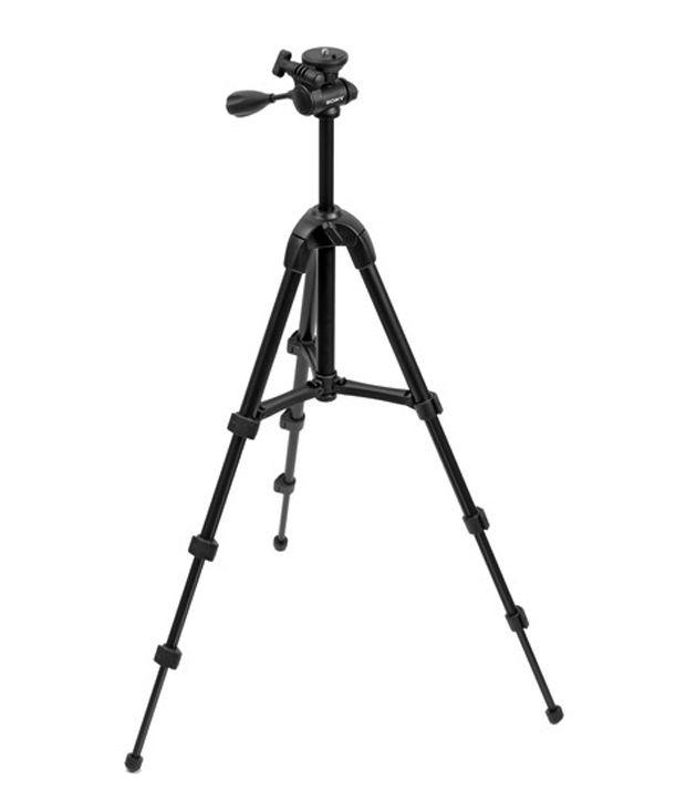 Sony VCT-R100 Lightweight Tripod (Load Capacity 1200 g