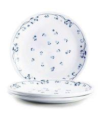 Corelle 14 Pcs Dinner Plate Set- Provincial Blue Dinner ...