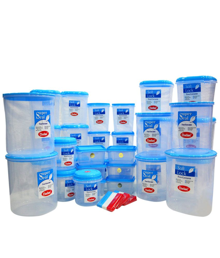 chetan polyproplene food container set of 41 60