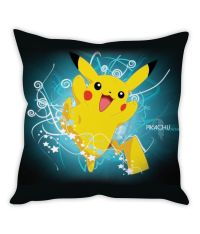Pikachu Pokemon Cushion Cover: Buy Online at Best Price ...