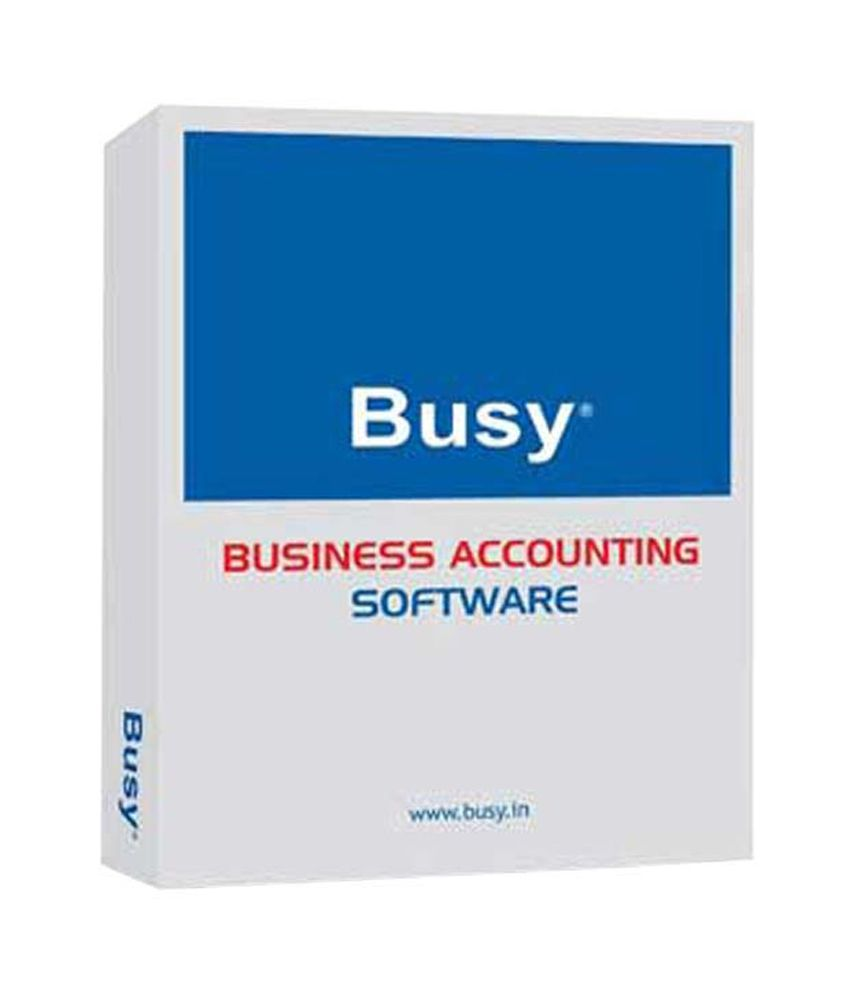 Busy Business Accounting Software With 180 Days Online