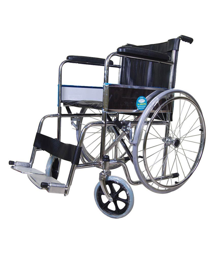 wheel chair prices home depot chairs karma foldable buy at best in india snapdeal