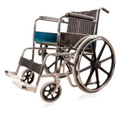 Steel Chair Mrp Hanging From Ceiling Jsb W03 Folding Wheelchair With Sturdy Magwheels: Buy ...