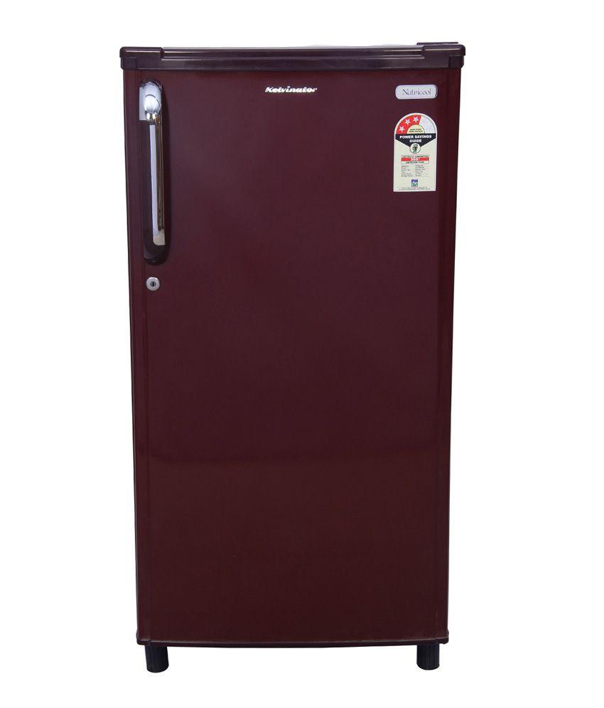 hight resolution of kelvinator 170 ltr kn183ebr kn183emh single door refrigerator maroon hairline