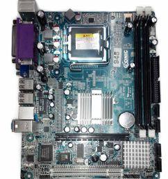 circuit diagram of intel 945 motherboard [ 850 x 995 Pixel ]
