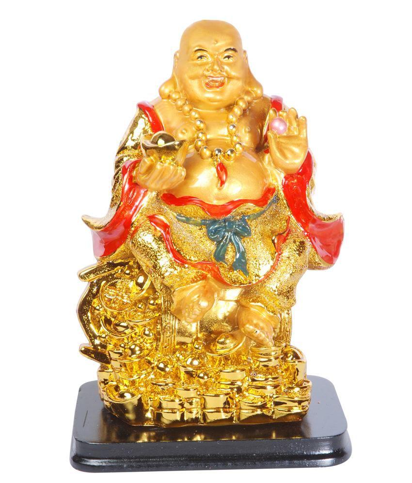 Oyedeal Feng Shui Laughing Buddha Showpiece Figurine: Buy