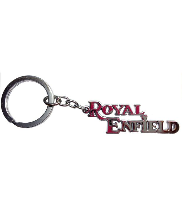 Discount4product Pure Metallic Royal Enfield Keychain: Buy