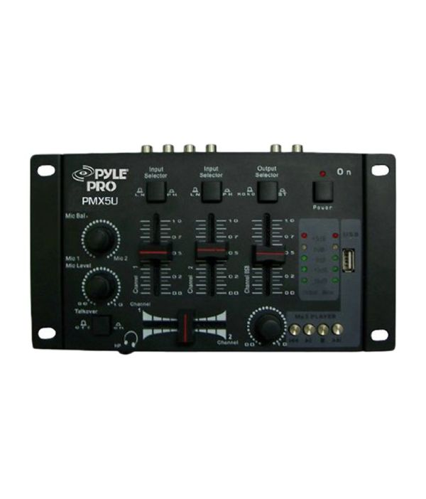 Pyle Pro Pmx5u Professional 3-stereo Channel Dj Mixer