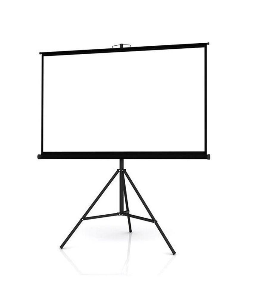 Buy Inlight Tripod Type Projector Screen Size:- 7 Ft. x 5