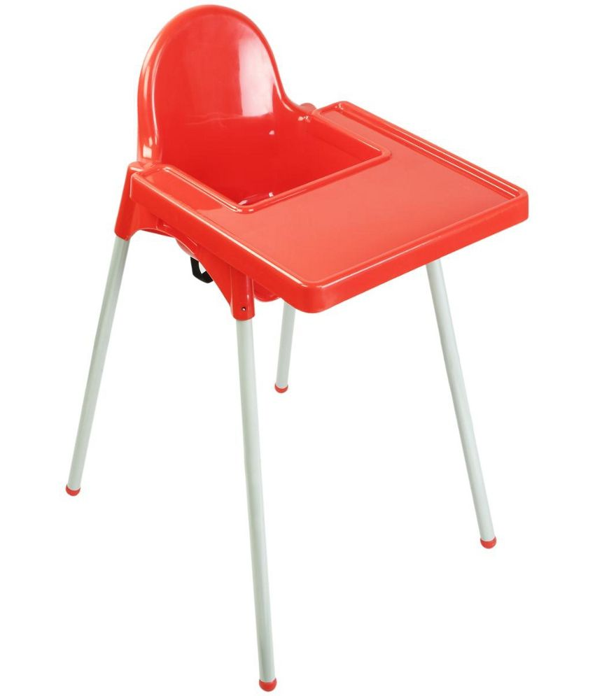 Oye Red and White Plastic High Chair  Buy Oye Red and