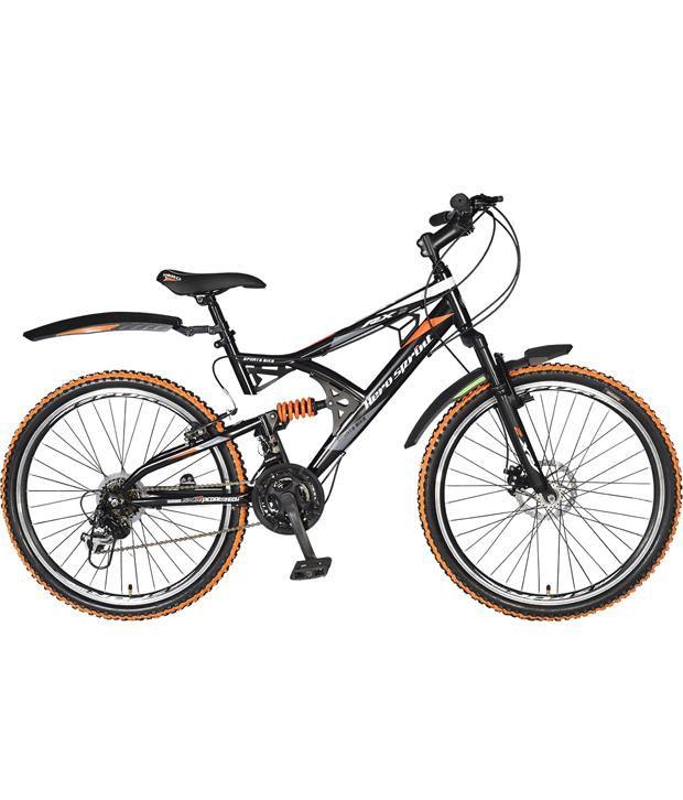 Hero RX2 26T Black & Orange 21 Speed Sprint Bicycle with