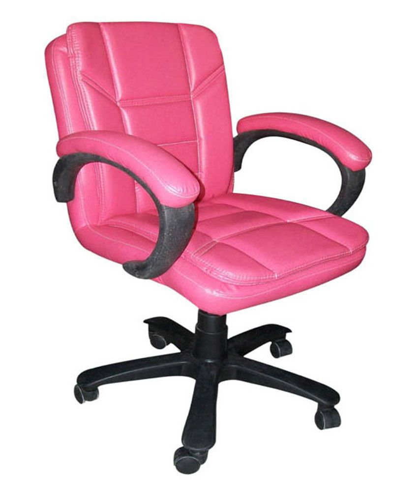 Pink Office Chairs Arushi Delta Pink Office Chair