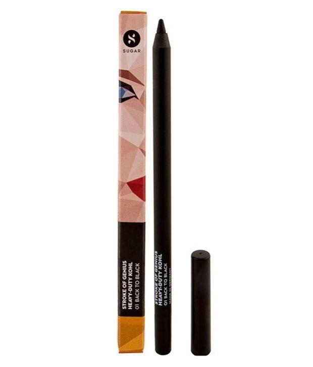 Sugar Cosmetics Kajal Pencil Black