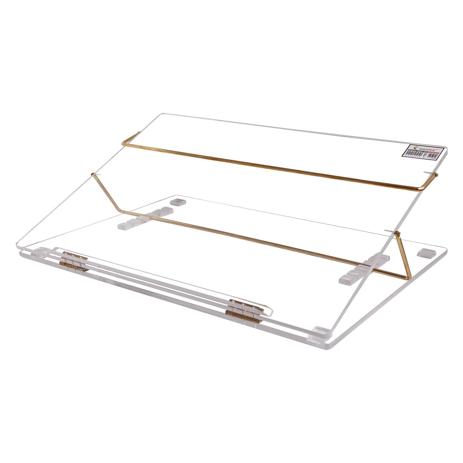 Rasper Clear Acrylic Writing Desk (Standard Size 21x15