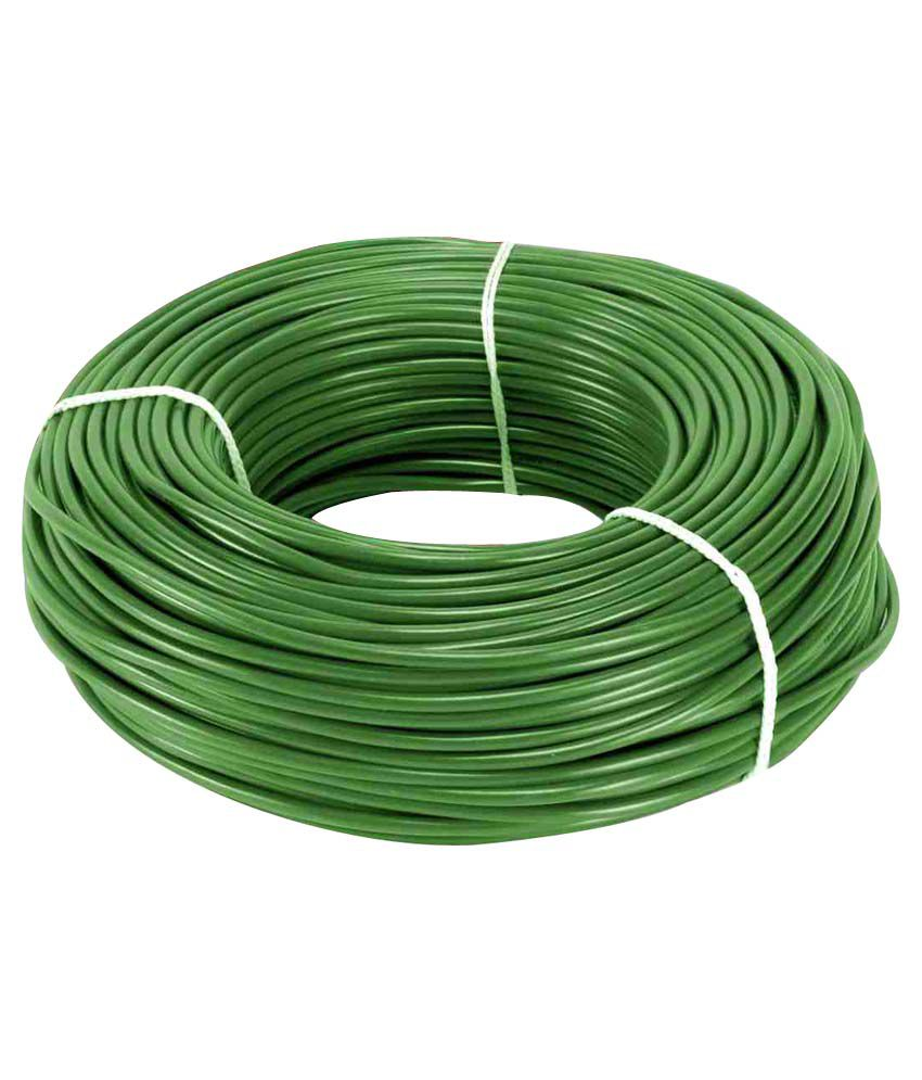 medium resolution of buy eon electric house wire green online at low price in india snapdeal