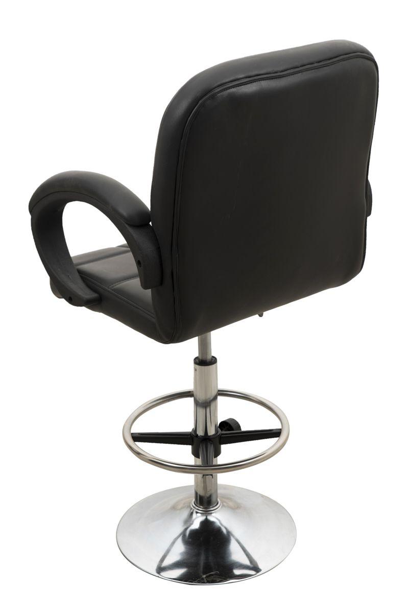 revolving chair for kitchen gray club in black buy