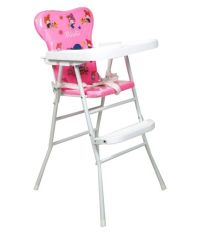 Ehomekart Pink Foldable High Chair