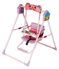 Sunbaby Pink Musical Baby Swing