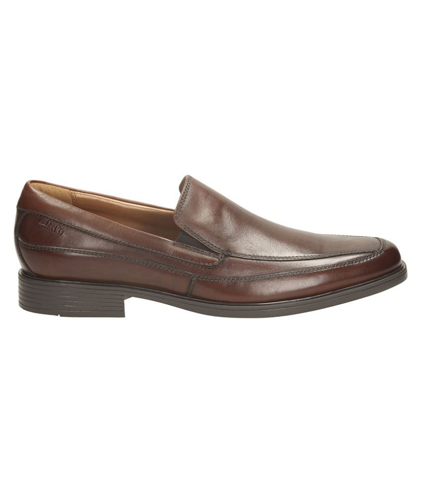 Clarks Brown Office Genuine Leather Formal Shoes Price in