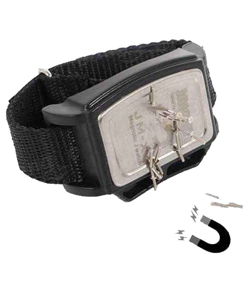 medium resolution of diy crafts black multipurpose magnetic wristband nuts nail
