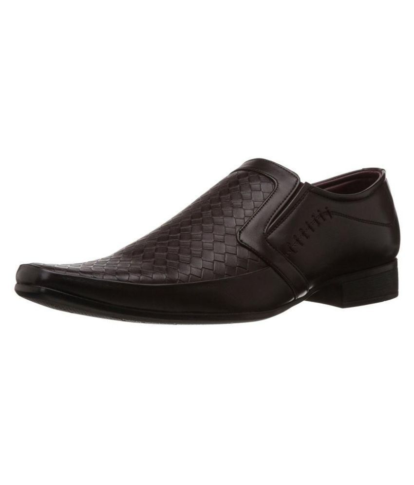 Liberty Brown Office Genuine Leather Formal Shoes Price in