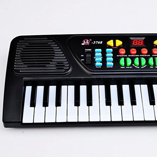 Darling Toys 37 Key Piano Keyboard Toy For Kids With Mic ...