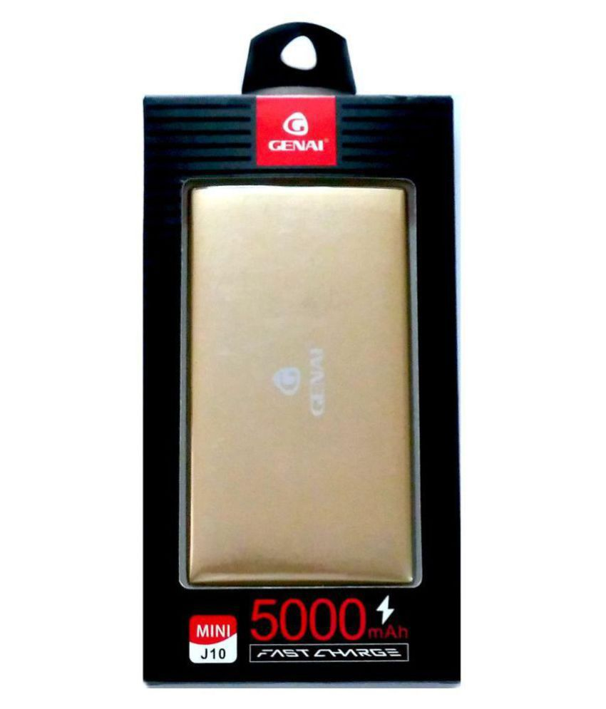 hight resolution of coskart genai j10 mini 5000 mah li ion power bank golden power banks online at low prices snapdeal india