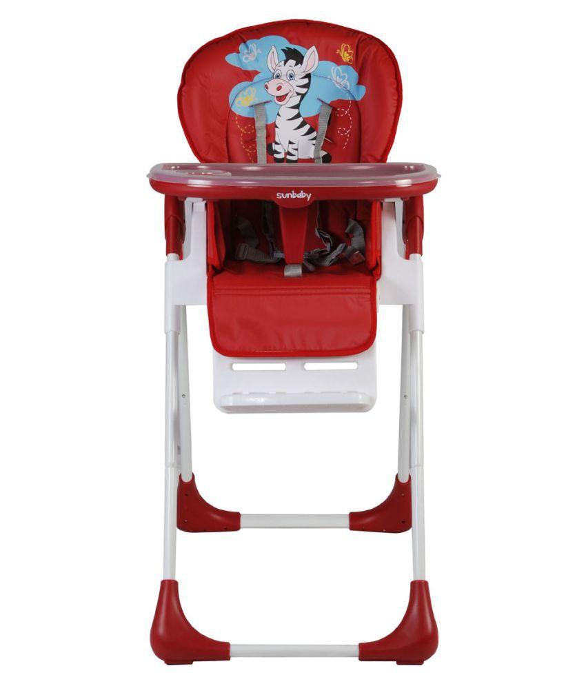 zebra high chair wedding cover hire sunderland sunbaby red naughty buy
