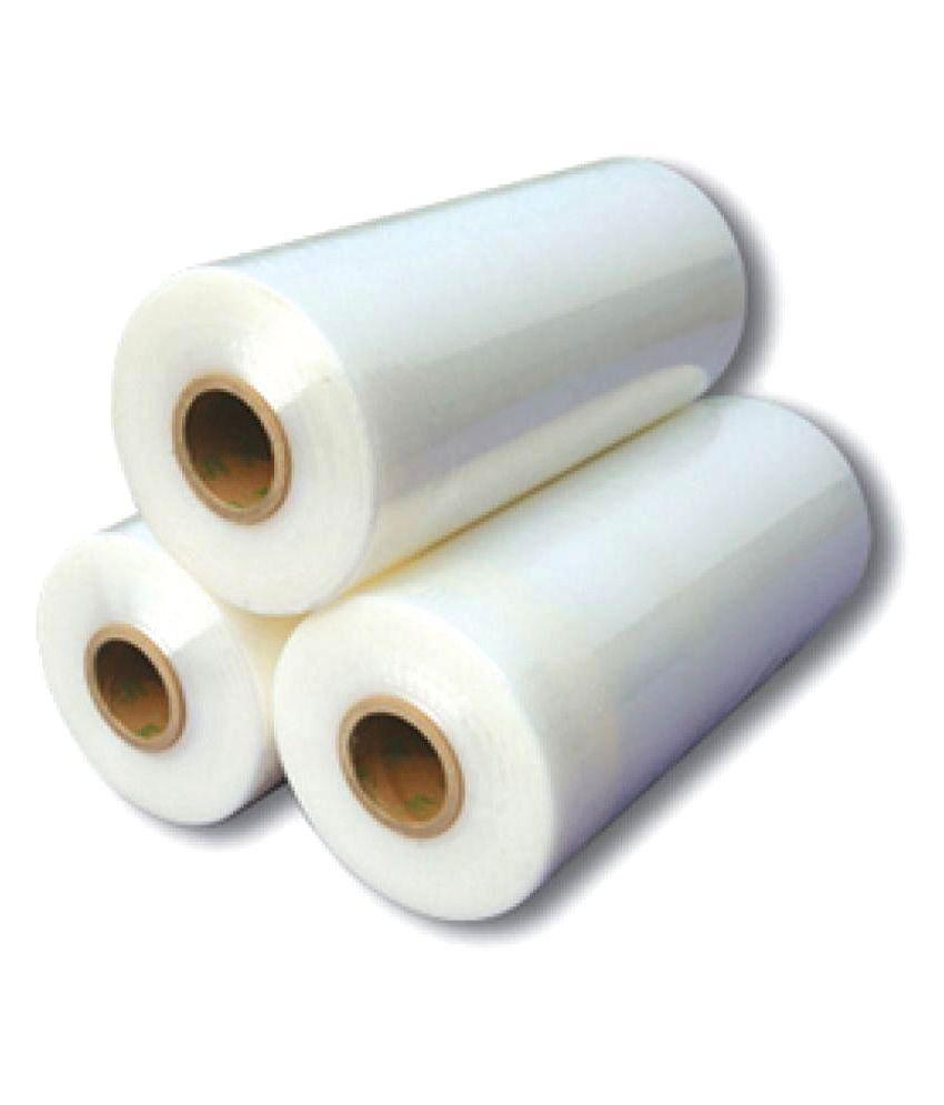ROBOTEK White Plastic Stretch Wrap Film Roll 4