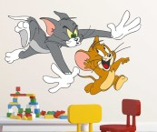 tom and jerry wall stickers