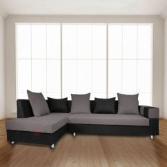 Indian L Shaped Sofa Design All Modern Reviews Adorn India Adillac Fabric Left Hand Side Shape Buy Online At Best Prices In On