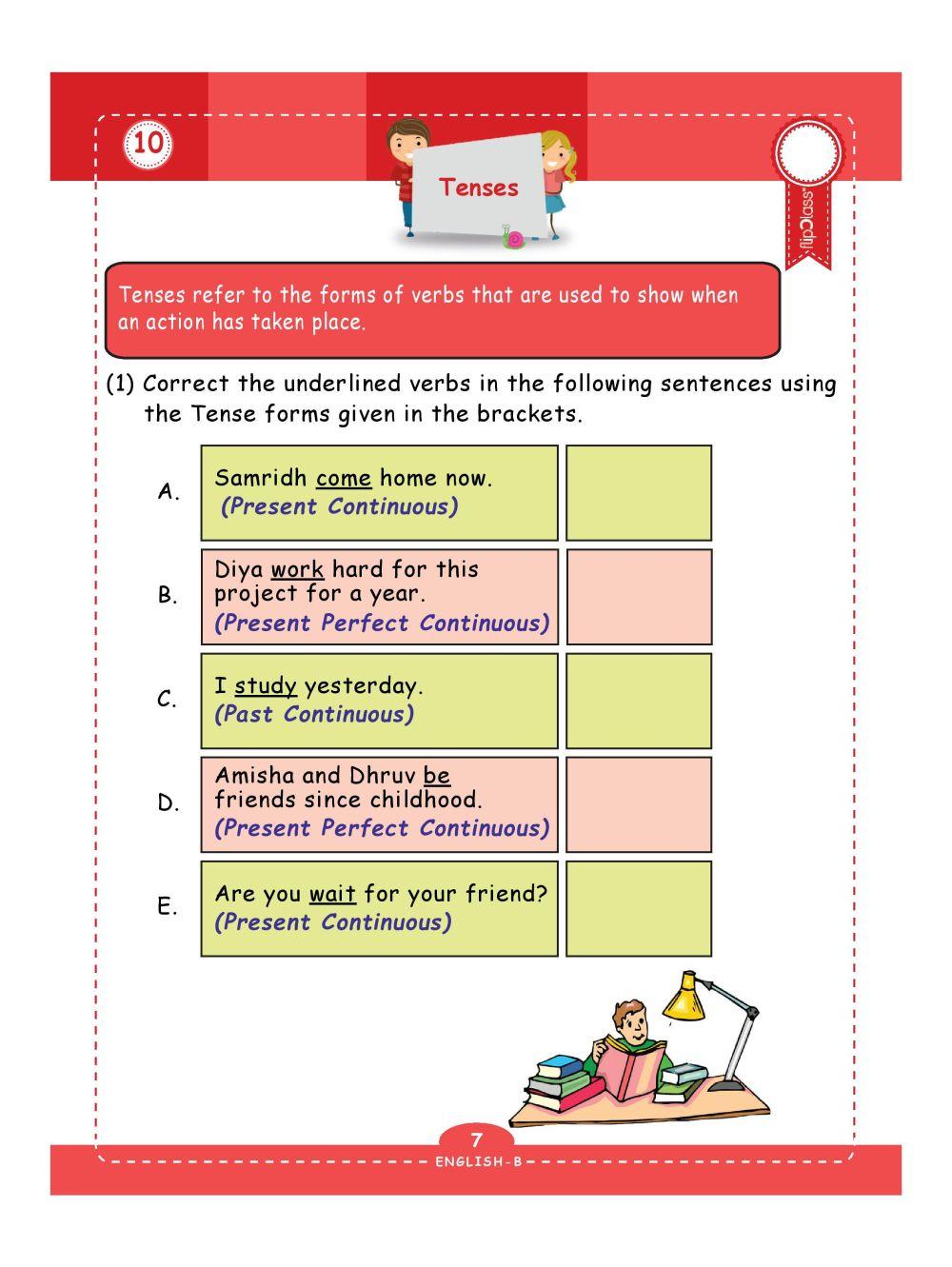 medium resolution of Genius Kids Worksheets (Bundle) for Class 4 (Grade-4) - Set of 6 Workbooks  (English