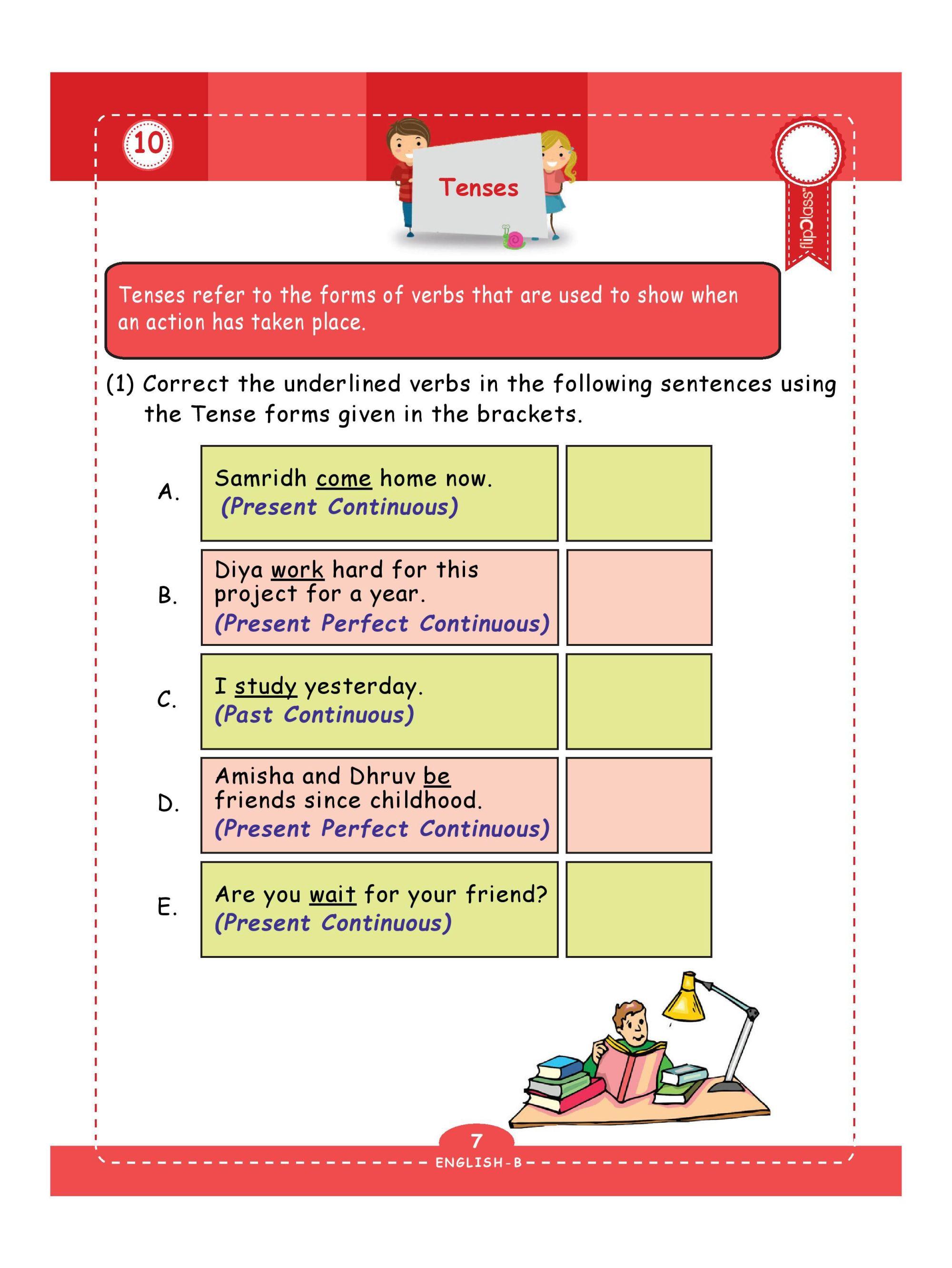 hight resolution of Genius Kids Worksheets (Bundle) for Class 4 (Grade-4) - Set of 6 Workbooks  (English