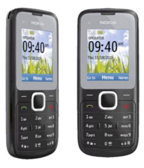 small resolution of rufi nokia c1 01 refurbished unused re boxed mobile black grey feature phone online at low prices snapdeal india