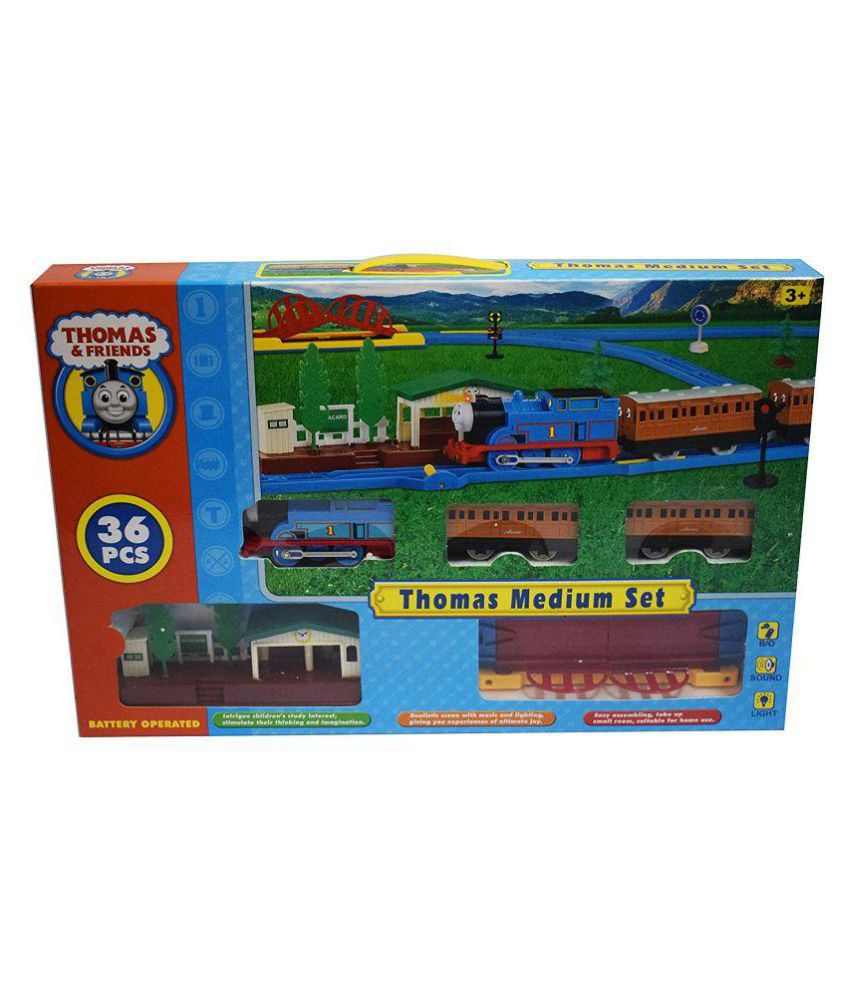 yatri creation Thomas and Friends Electric Track Train Set with Platform