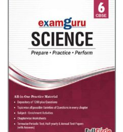 Examguru All In One CBSE Chapterwise Question Bank for Class 6 Science (Mar  2019 Exam): Buy Examguru All In One CBSE Chapterwise Question Bank for Class  6 Science (Mar 2019 Exam) Online [ 995 x 850 Pixel ]