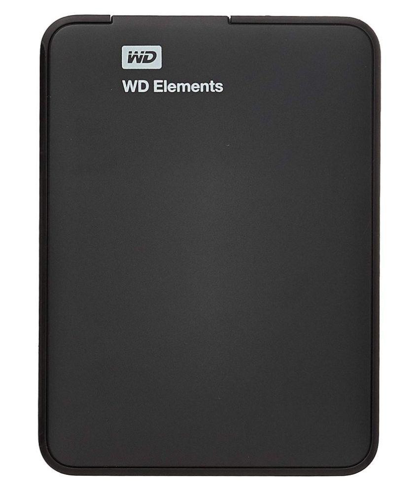 Western Digital Elements 1 TB USB 3.0 WDBUZG0010BBK-EESN Black