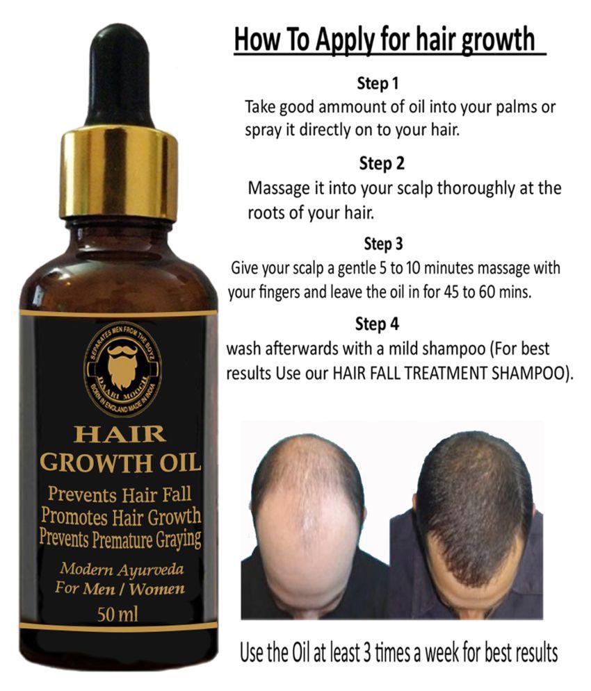 DAARIMOOCH Hair Growth Oil Blend of-19 oils - For Hair ...
