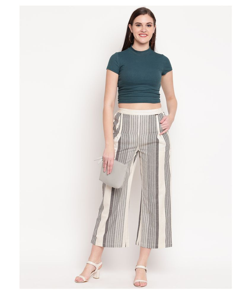 Buy Patiala House Cotton Palazzos Online at Best Prices in India - Snapdeal